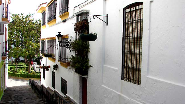 Estepona - a unspoiled typically Andalucian Spanish coastal town