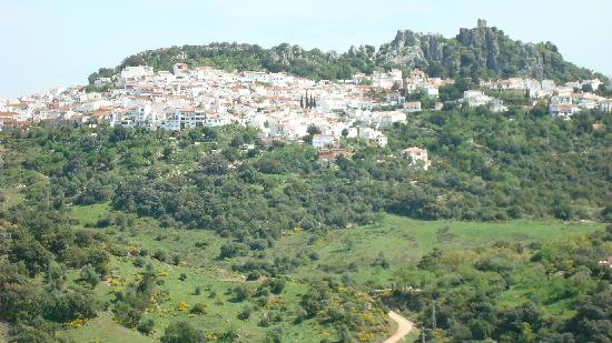 The gorgeous Andalucian mountainside village of Casares
